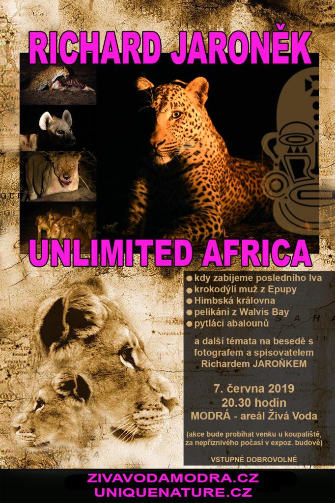 Beseda Unlimited Africa - Modrá