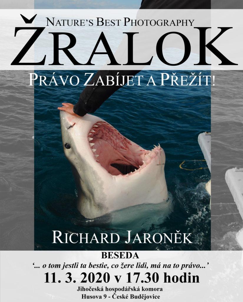 Přednáška Žralok - právo zabíjet a přežít