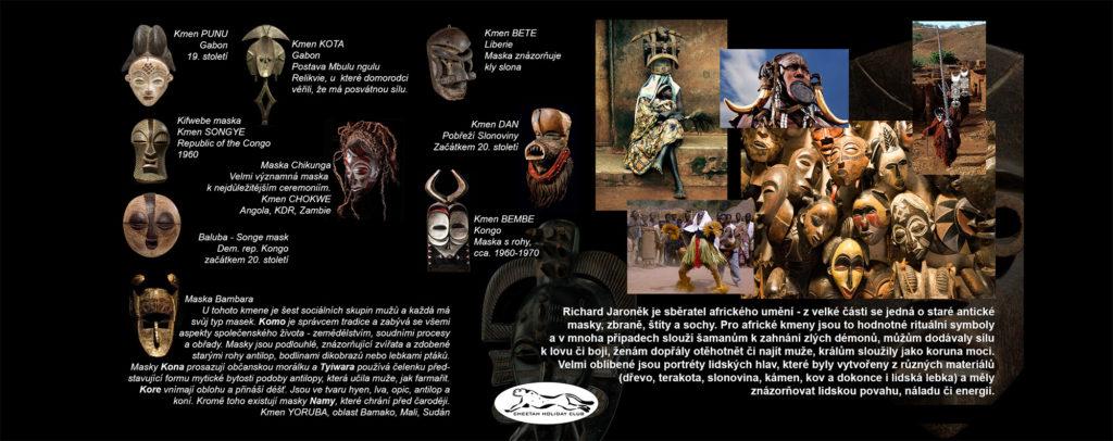 Ltalog Café Africa - masky