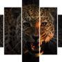 Snarling leopard L 0505 – vzor 1