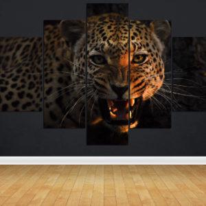 Snarling leopard L 0505 - vzor 3