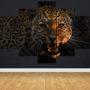 Snarling leopard L 0505 – vzor 3