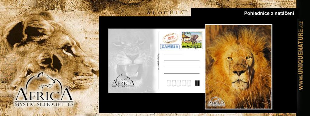 150 - pohlednice ze Zambie