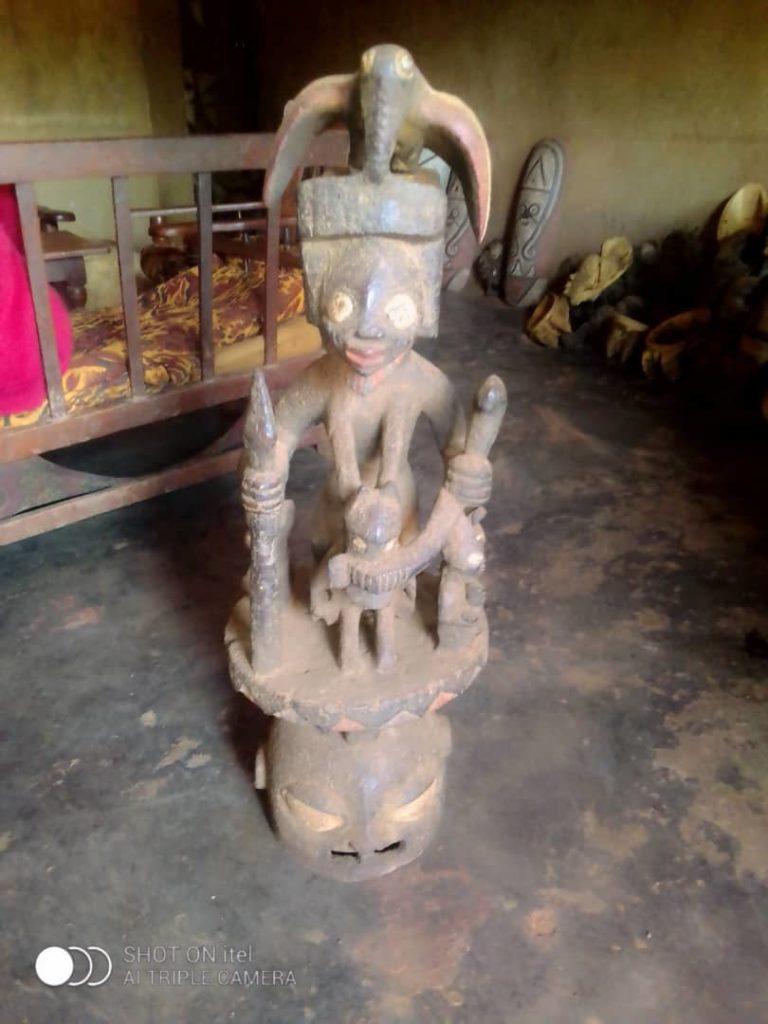 263 - Yoruba kmen - Epa maska - Benin, Togo, Nigerie